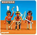 PLAYMOBIL 6272 3 Sioux-Indianer (Folienverpackung)