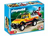 PLAYMOBIL 4228 - Pick-Up mit Racing Quad