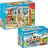 PLAYMOBIL City Life Die freundliche Kinderklinik 2-tlg. Set 6657 6686 Kinderklinik mit Einrichtung +...