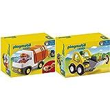 Playmobil 6775 - Radlader & 6774 - Müllauto