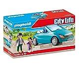 PLAYMOBIL 70285 City Life Papa und Kind mit Cabrio, bunt