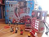 Playmobil 5027 - Feuerwehr-Hauptquartier mit Löschfahrzeug
