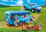 PLAYMOBIL® 9502 - Family Fun - Pick-Up mit Wohnwagen