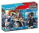 PLAYMOBIL City Action 70573 Polizei-Fahrrad: Verfolgung des Taschendiebs, Für Kinder von 4 - 10...