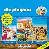 Die große Römer- und Ägypterbox. Das Original Playmobil Hörspiel: Die Playmos 5, 18, 52