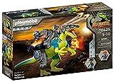 PLAYMOBIL Dino Rise 70625 Doppelte Verteigungspower: Dinosaurier Spinosaurus mit Schutzpanzer und...