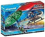 PLAYMOBIL City Action 70569 Polizei-Hubschrauber: Fallschirm-Verfolgung, Für Kinder von 4 - 10...