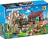 Playmobil 9126 - Kletterfels mit Berghütte