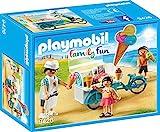 PLAYMOBIL Family Fun 9426 Fahrrad mit Eiswagen, ab 4 Jahren