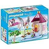 Playmobil 9289 Königspavillon mit Pegasus-Kutsche