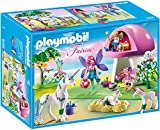 PLAYMOBIL Fairies 6055 Feenwäldchen mit Einhornplfege inkl. Feen, Einhörnern und Zubehör, ab 4...