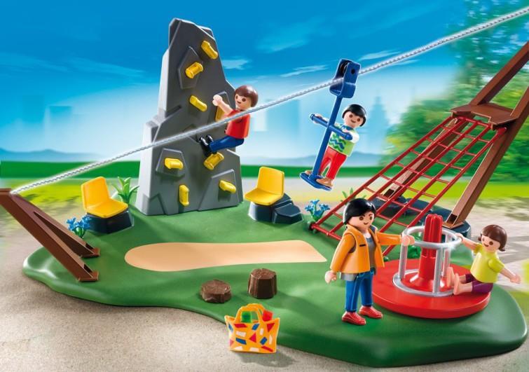 Playmobil Klettergerüst : Playmobil spielplatz kauf und testplaymobil spielzeug online
