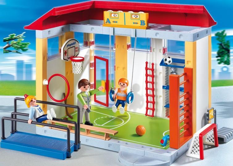 playmobil sporthalle kauf und testplaymobil spielzeug online kaufen und bestellen. Black Bedroom Furniture Sets. Home Design Ideas