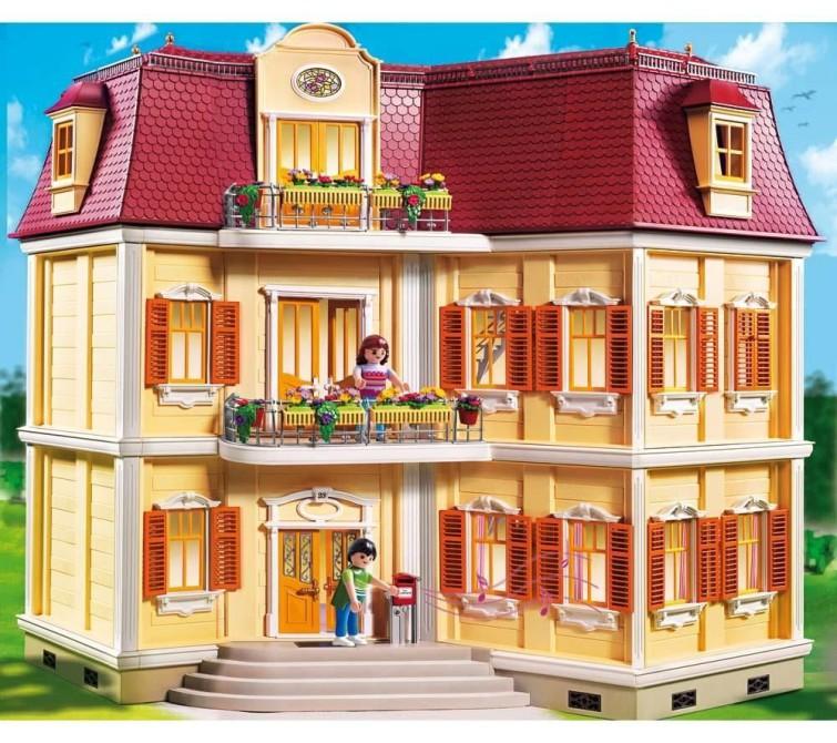 playmobil puppenhaus kauf und testplaymobil spielzeug. Black Bedroom Furniture Sets. Home Design Ideas