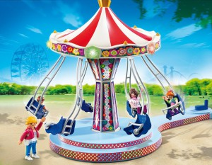 Ein Playmobil Karussel
