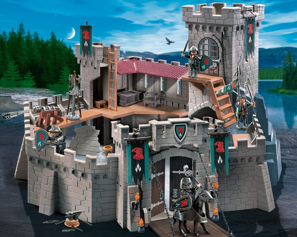 ritterburg playmobil 4835