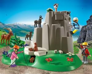 Playmobil Berg zum Bergrettungsset
