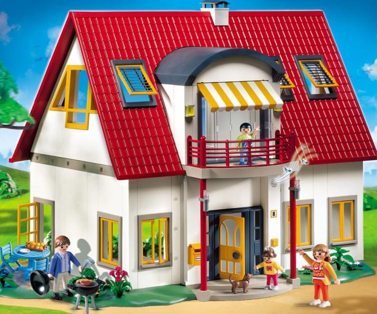 Playmobil wohnhaus erweiterung