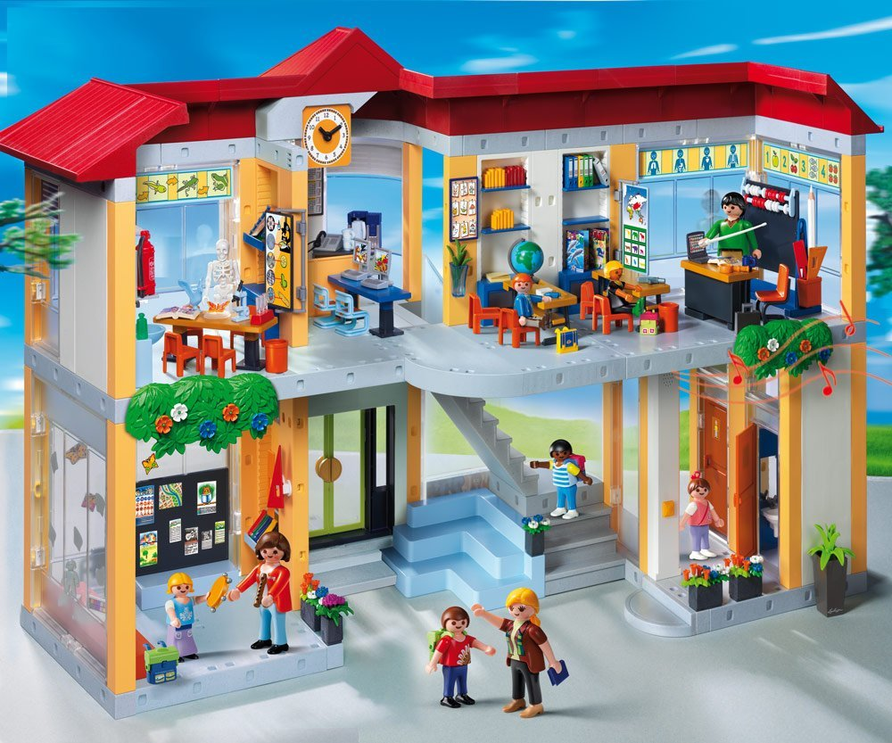 playmobil schule kauf und testplaymobil spielzeug online. Black Bedroom Furniture Sets. Home Design Ideas