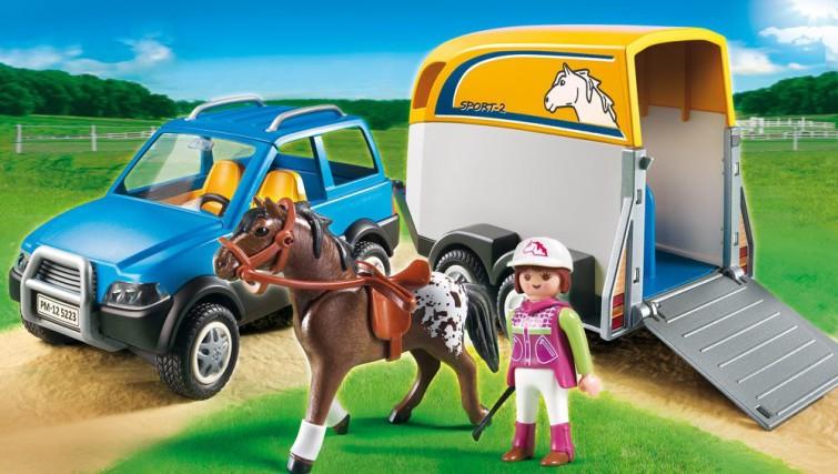 Spielzeug Rund Um Den Neuen Superhelden: Playmobil Pferdeanhänger Kauf Und TestPlaymobil Spielzeug