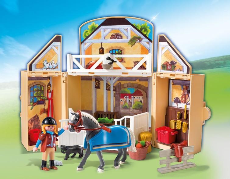 Playmobil pferdestall kauf und testplaymobil spielzeug online kaufen und bestellen - Pferde playmobil ...