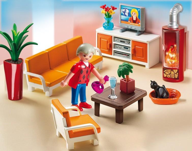Playmobil wohnzimmer kauf und testplaymobil spielzeug for Playmobil modernes haus 9266