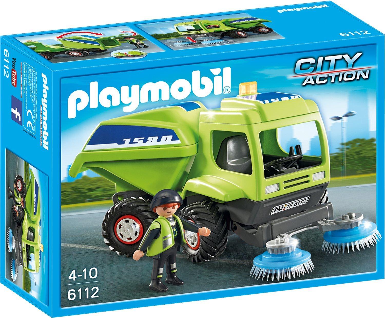 playmobil kehrmaschine kauf und testplaymobil spielzeug online kaufen und bestellen. Black Bedroom Furniture Sets. Home Design Ideas