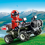 Playmobil Bergrettungs-Quad