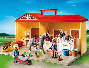 Playmobil Reiterstall