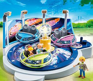 Ein Karussel von Playmobil