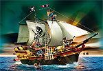 Playmobil Piratenschiff zur Pirateninsel