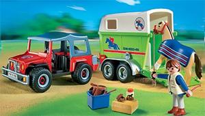 Playmobil Pferdeanhänger