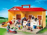 Ein Playmobil Ponyhof