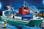 Playmobil Güterschiff