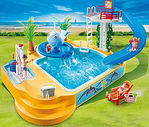 Playmobil schwimmbad kauf und test for Piscine play mobile