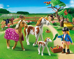Playmobil Pferdewiese