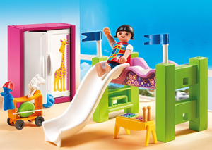 Rutsche von Playmobil für ein Kinderzimmer
