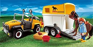 Pferdeanhänger von Playmobil