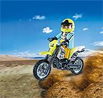 Playmobil Mountainbike Motorrad