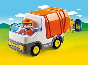 Müllauto für jüngere Kinder