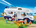 Playmobil Familien-Caravan