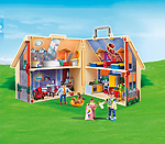 Playmobil Puppenhaus zum Transportieren