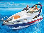 Playmobil Schiff - Luxusyacht