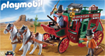 Playmobil Postkutsche